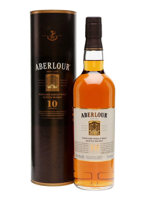 Aberlour Single Malt Whisky 10 Years Old 70 cl