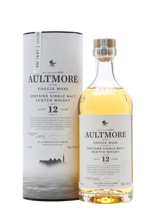 Aultmore Single Malt whisky 12 Years Old 70 cl