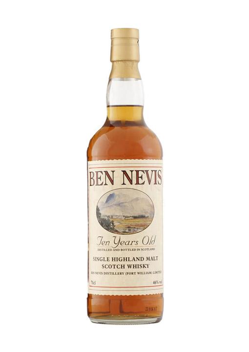 Ben Nevis Single Malt Whisky 10 Years 70 cl