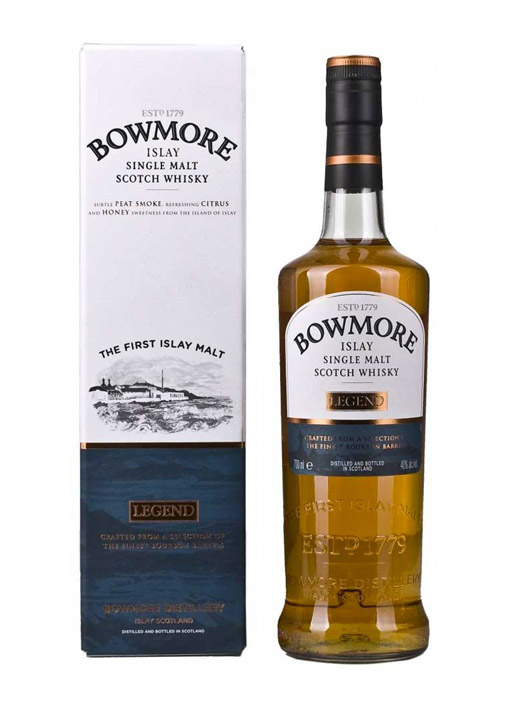 Bowmore Legend  Single Malt Whisky  70 cl