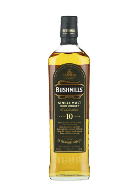 Bushmills Single Malt Whisky 10 Years 70 cl