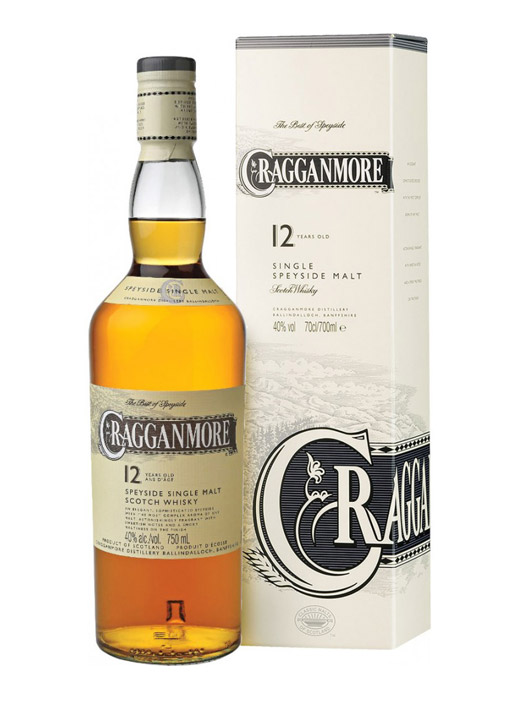 Cragganmore Single Malt Whisky 12 Years 70 cl