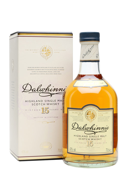 Dalwhinnie Single Malt Whisky 15 Years 70 cl