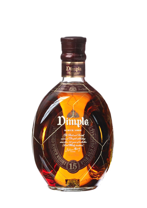 Dimple Scotch Blended Whisky 15 Years 70 cl