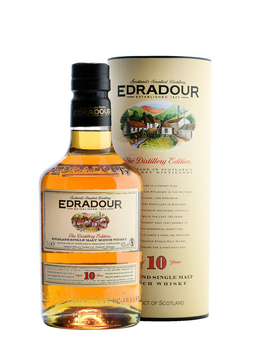 Edradour Single Malt Whisky 10 Years 70 cl