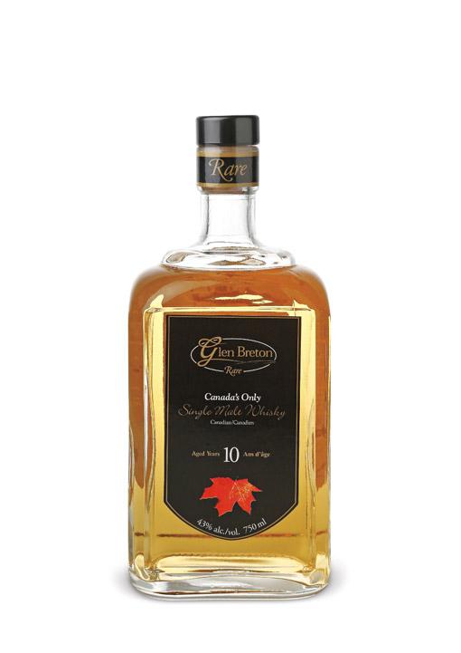 Glen Breton 10 Years Canadian Malt Whisky 70 cl