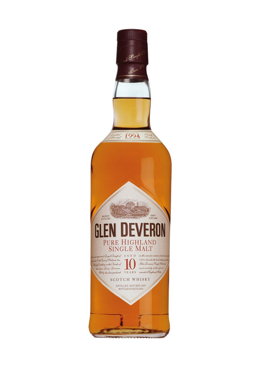 Glen Deveron Single Malt Whisky 10 Years 70 cl