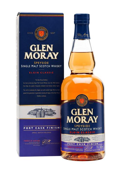 Glen Moray Port Cask finish Single malt 70 cl