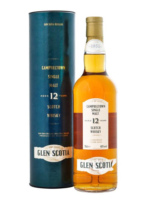 Glen Scotia Single Malt Whisky 12 Years 70 cl