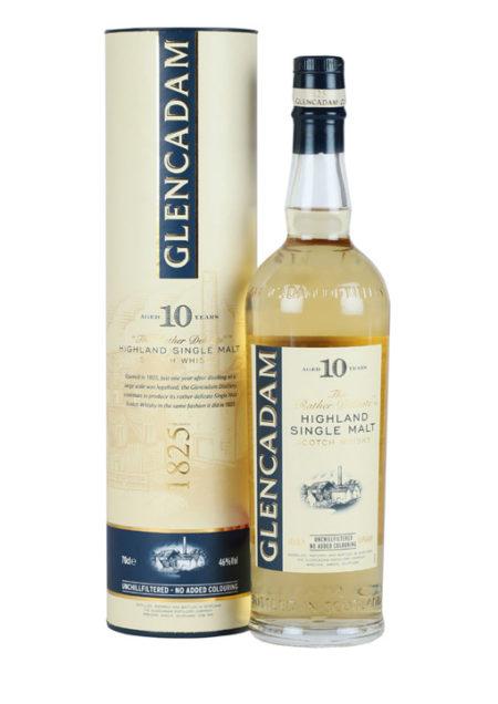 Glencadam Delicate Malt Whisky 10 Years 70 cl