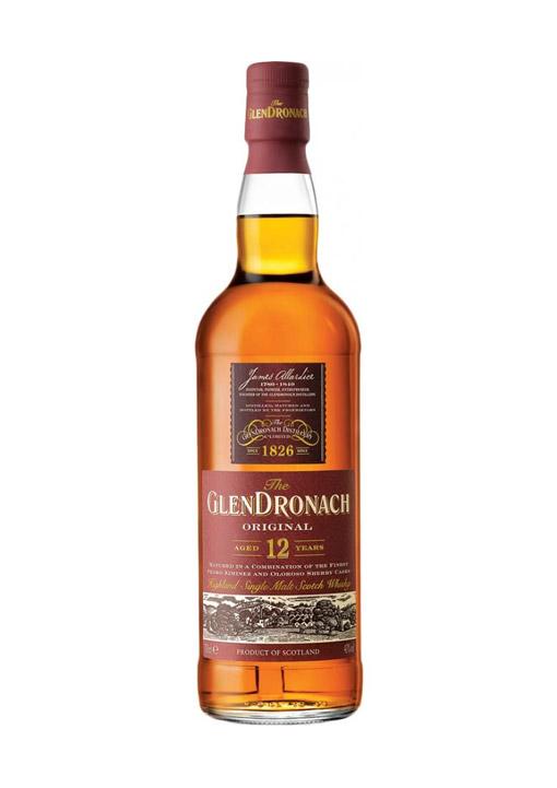 GlenDronach Single Malt Whisky 12 Years 70 cl