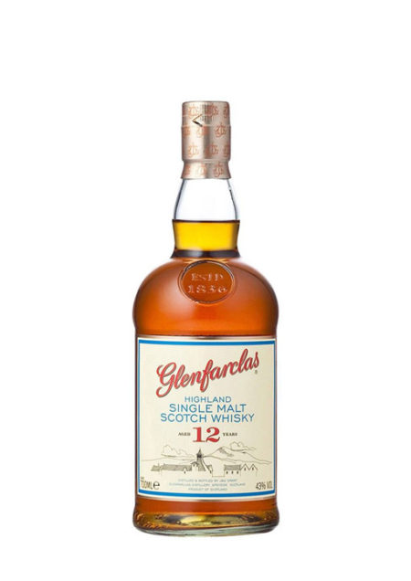 Glenfarclas Single Malt whisky 12 Years 100 cl