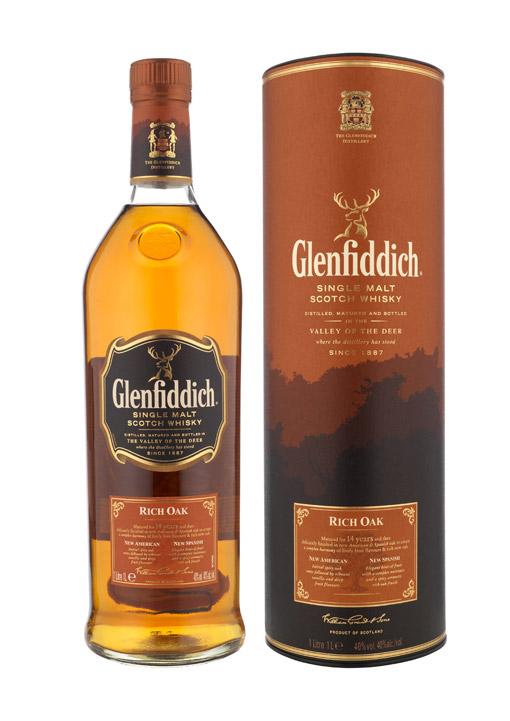 Glenfiddich Rich Oak 14 Years 70 cl