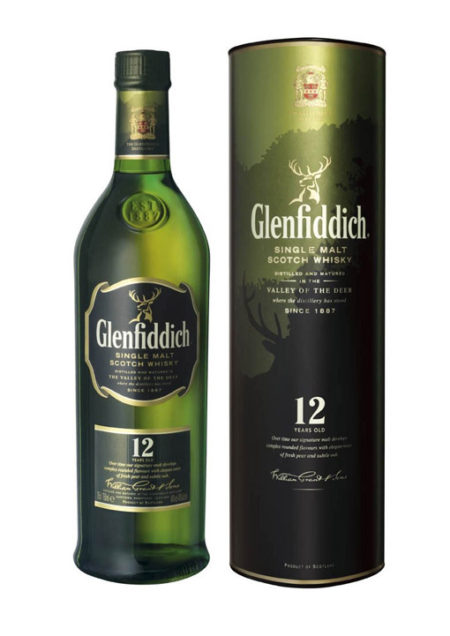Glenfiddich Single Malt Whisky 12 Years 70 cl