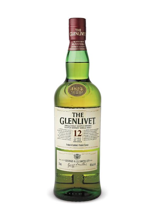 Glenlivet Single Malt Whisky 12 Years 70 cl