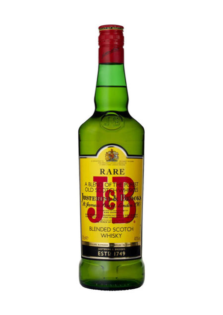 J&B Blended Scotch whisky 70 cl