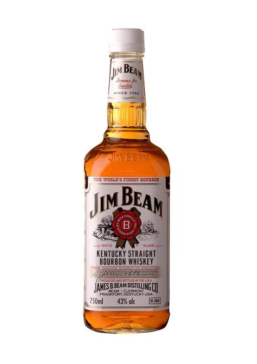 Jim Beam Kentucky Straight Bourbon Whisky 70 CL