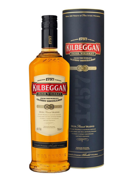 Kilbeggan Irish whisky 70 cl