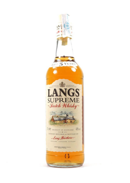 Lang's Supreme Whisky 70 cl
