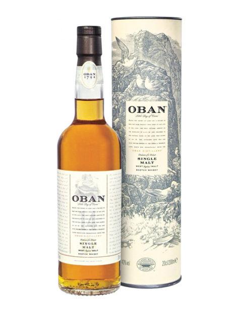 Oban Single Malt Whisky 14 Years 70 cl