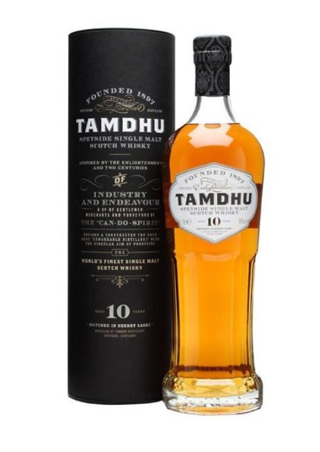 Tamdhu Single Malt Whisky  10 years 70cl