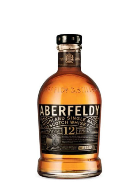 Aberfeldy Single Malt whisky 12 years Old 70 cl