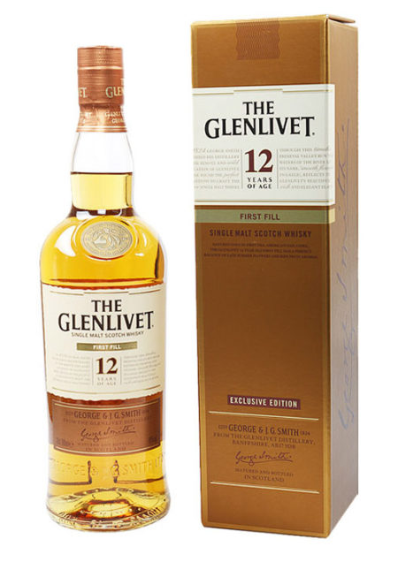 The Glenlivet 12 Years First Fill 70cl
